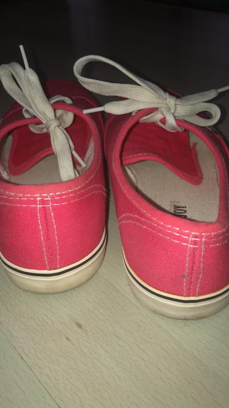 Chaussures rose imitation Vans - Vinted